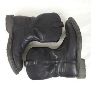 ARIAT Black Leather Boots Men's 11 EE